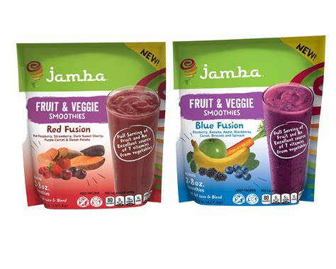 new fruit veggie fusion smoothies from jamba 174 at home