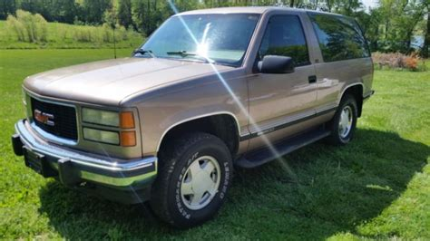 1994 gmc yukon sle 2 dr clean low miles for sale gmc yukon 1994 for sale in henderson 1994 gmc yukon sle 2 dr clean low miles