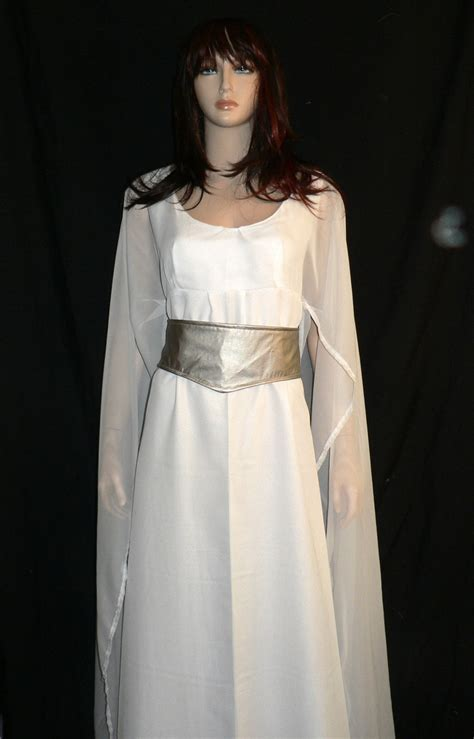 Leia Dress princess leia ceremonial gown wars rebel legion approved white gown a new