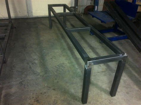metal bench frame steel metal bench coffee table frame any size color