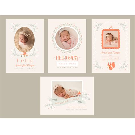 Whcc Card Templates by Woodland 5x7 Whcc Cards Oh Snap Boutique