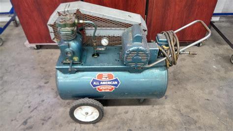 lot 34 saylor beall all american air compressor wirebids