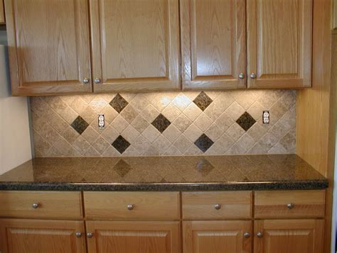 Kitchen Backsplash Tile Patterns by Travertine Tile Kitchen Backsplash Review Home Co