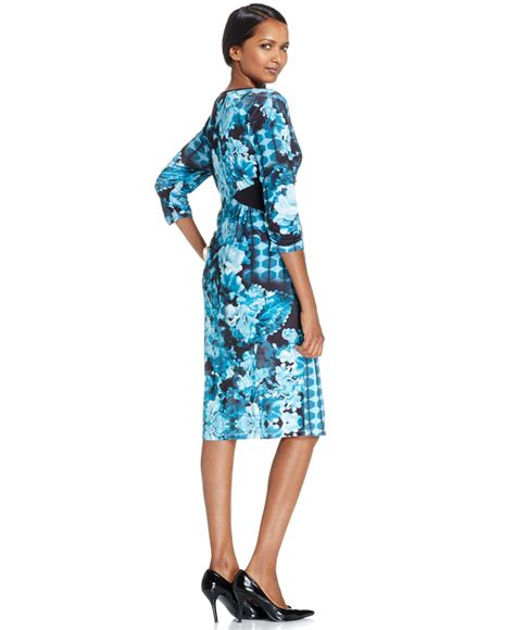 Style Co Dress lyst style co only at macy s in blue