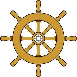 file steering wheel ship svg wikimedia commons