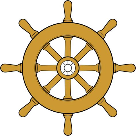 ship wheel template file steering wheel ship svg wikimedia commons