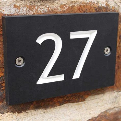design house numbers uk buy eco house numbers bespoke the worm that turned