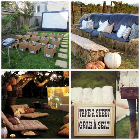 Screen Patio Cost How To Host A Backyard Movie Party Diy For Life