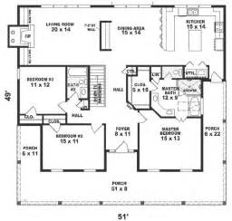 one story two bedroom house plans one story house plans 1500 square 2 bedroom