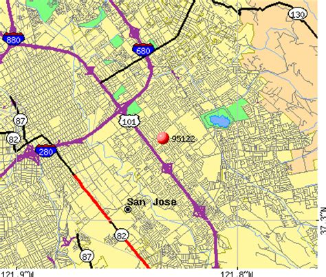 san jose demographics map 95122 zip code san jose california profile homes