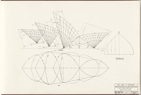Elevation Floor Plan by Sydney Opera House The Red Book State Records Nsw