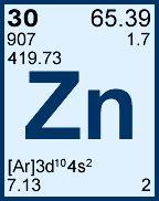 1000 ppm 181 g ml zinc for icp cgzn1 125ml