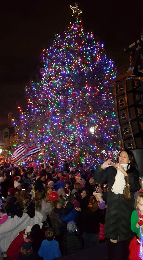 annual tree lighting the ridgewood annual tree lighting