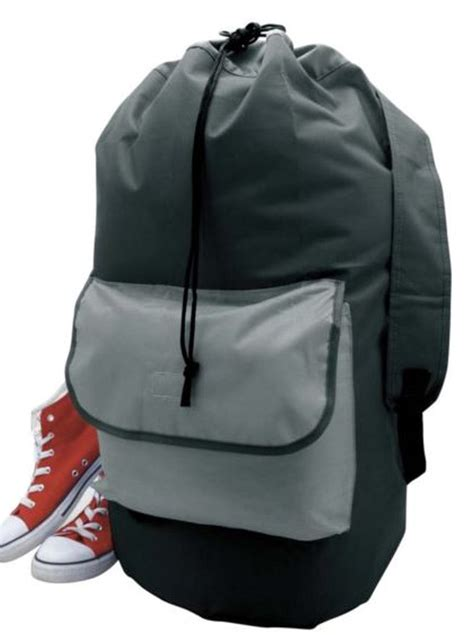 laundry backpack storage solutions laundry backpack duffel bag black