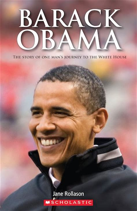 obama picture with book secondary elt readers level 2 barack obama book only