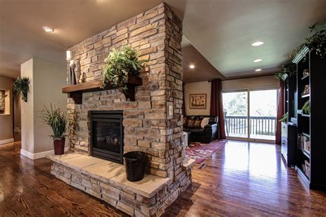 family room fireplace double sided gas fireplace family room traditional with