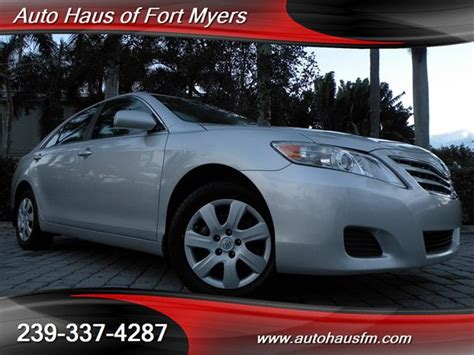 Toyota Of Fort Myers 2010 Toyota Camry Le Ft Myers Fl For Sale In Fort Myers