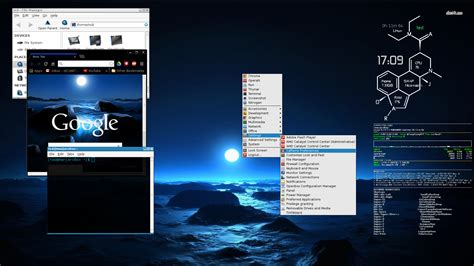 chrome theme randomizer manjarobox openbox dark blue dawn theme same on google