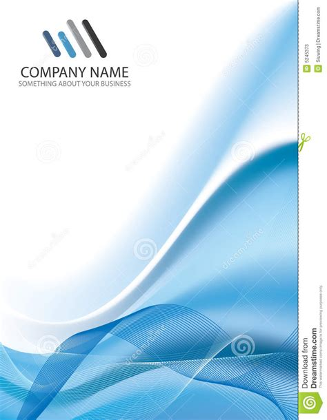 Corporate Business Template Background Stock Vector Illustration Of Digital Creation 5245373 Template Background