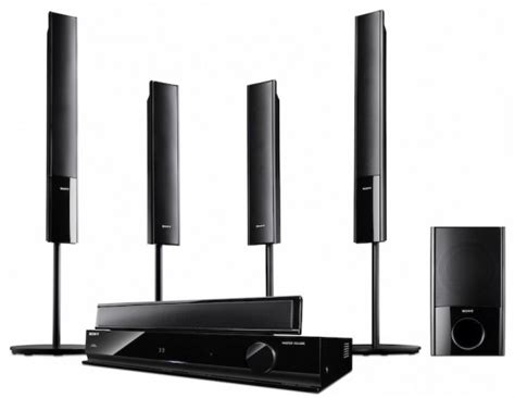 sony unleashes affordable 3d home theater systems gadget