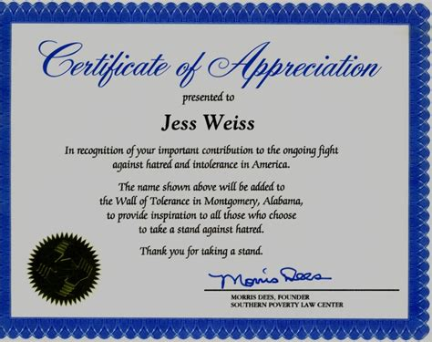 10 best images of religious certificate of appreciation
