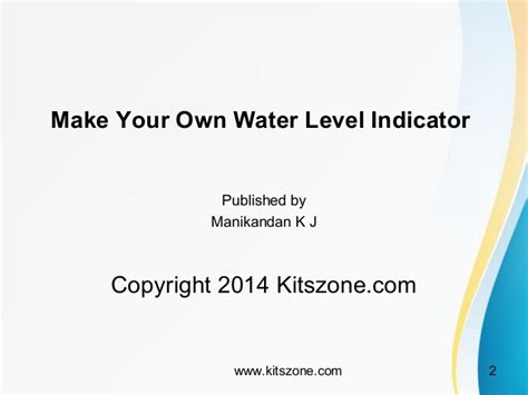 make your own water make your own water tank level indicator with motor