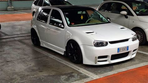 Auto Gol 99 Tuning by The Sound Of Tuning Volkswagen Golf 4 176 Serie Del 99 In