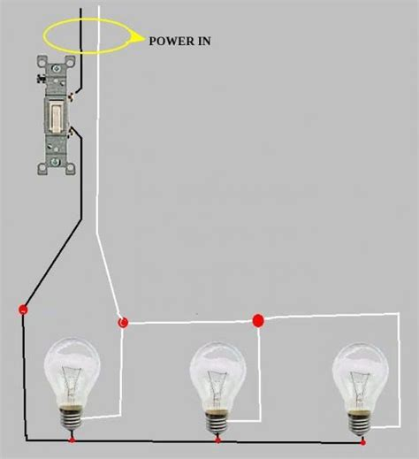 how a light switch works wiring recessed lights in series diagram efcaviation com