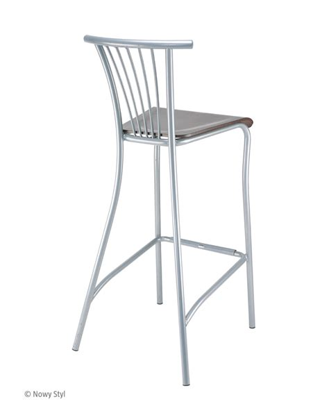 wood and chrome bar stools baleno hocker wood chrome bar stools and stools nowy styl
