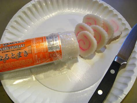 Narutomaki Boiled Fish Cake Pelengkap Ramen ozoni new year s day soup tess s japanese kitchen
