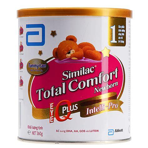 abbott similac total comfort sữa bột abbott similac total comfort 1 newborn tc1s 360g