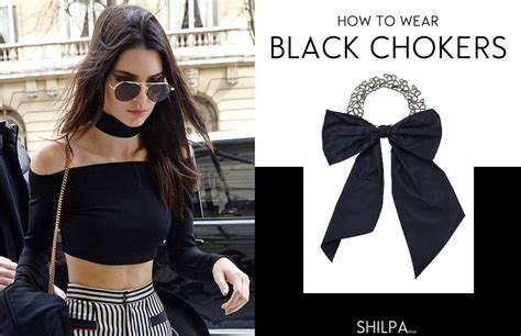 how to wear black chokers in 6 trendy ways