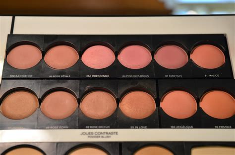 And Color Icon Blush Chagne Blushon Blush On chanel joues contraste blush swatches by grace