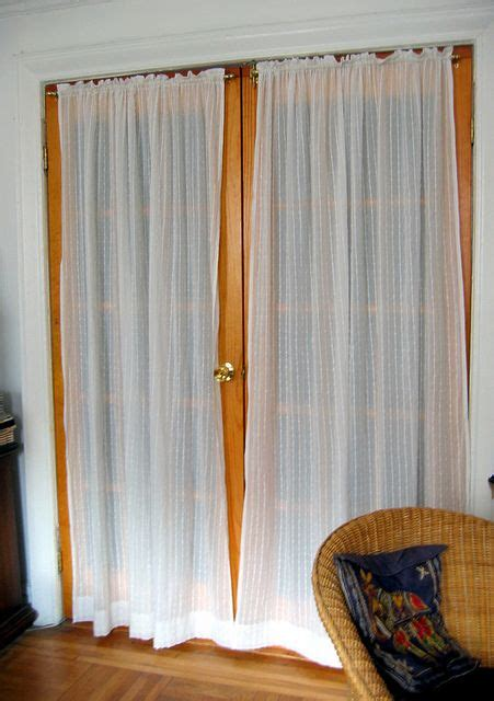 french door curtain rod 17 best images about windows on pinterest french door
