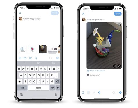 twitter  cues  snapchat  testing update    camera  accessible