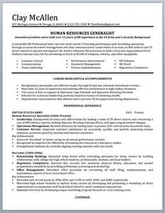 Sample Resume Military Civilian professionally written military resume to civilian sample and writing