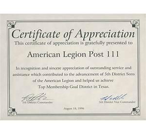 55 sample certificate appreciation community service resume sample templates yelopaper Images
