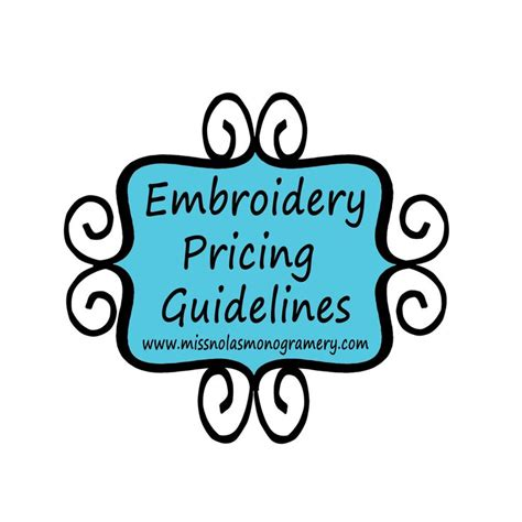 embroidery design guidelines this is a set of guidelines that i have found useful from