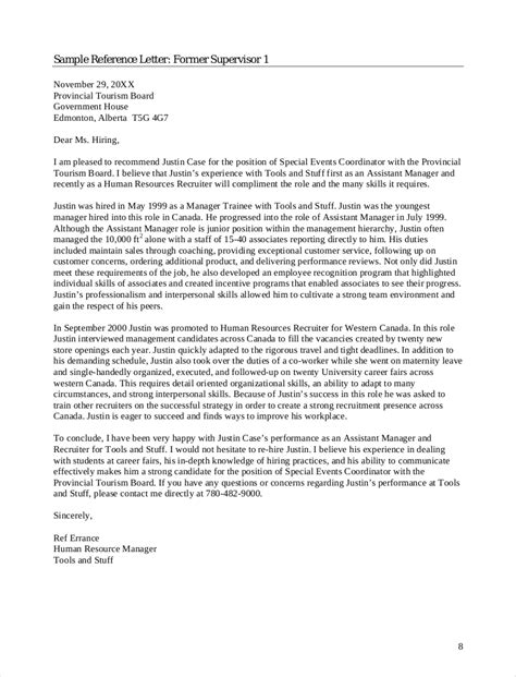 Reference Letter For Underperforming Employee reference letter exles for employee docoments ojazlink