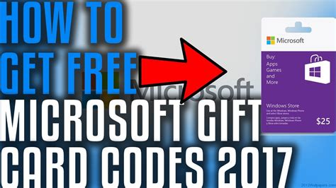 Free Microsoft Gift Card Code - does it work free microsoft gift card codes 2017 youtube