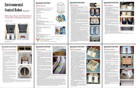 instruction manual template instruction sheet template 9