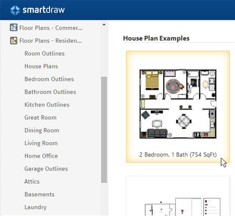 smartdraw house plans home design software free download online app