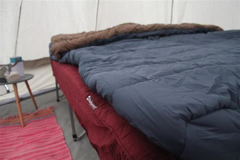 ultra comfortable cing with the outwell centuple foldaway c bed
