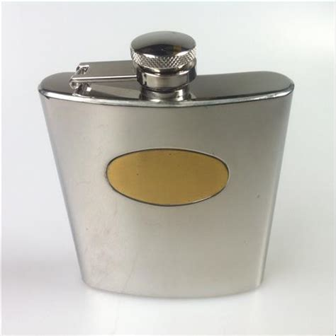 Stainless Steel Hip Flask 7 Oz stainless steel hip flask 7 oz mirror finish rcf917h plat
