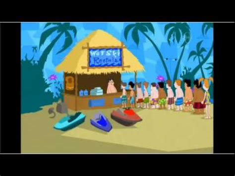 phineas and ferb backyard beach song phineas and ferb backyard beach icelandic version youtube