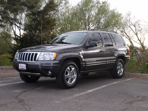 2004 Jeep Grand Weight Jackt 2004 Jeep Grand Cherokeelimited Sport Utility 4d