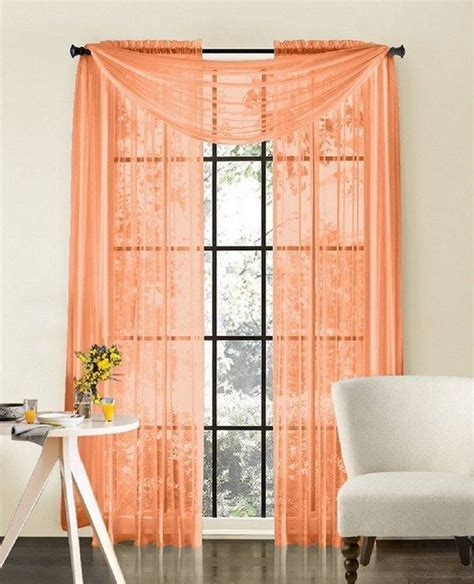 peach kitchen curtains best 25 peach curtains ideas on pinterest pink