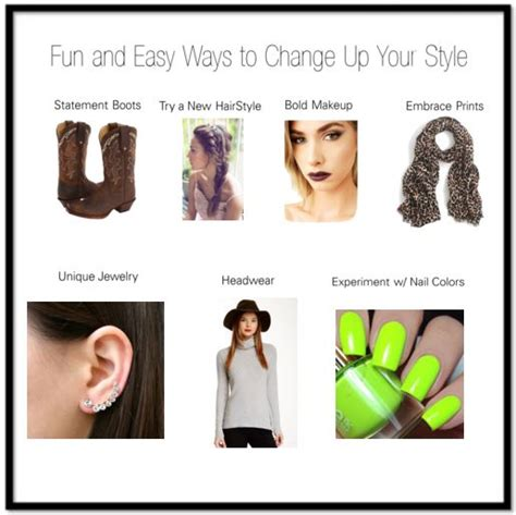 10 Simple Ways To Change Your Look by 10 And Easy Ways To Change Up Your Style Shannon