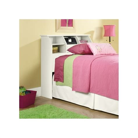 white bookcase headboard bookcase headboard in white 411905