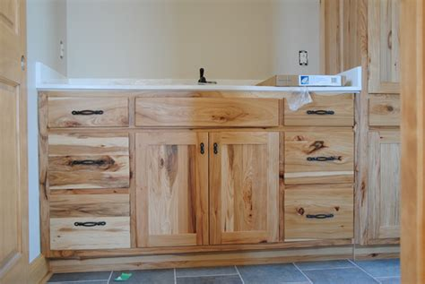 Hickory Vanity Cabinet by We Build Quality Custom Cabinets At An Affordable Price